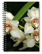 Orchid 3 Spiral Notebook