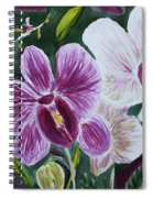 Orchid At Aos 2010 Spiral Notebook