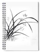 Orchid Elegance  Spiral Notebook