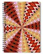Orchid Kaleidoscope 8 Spiral Notebook