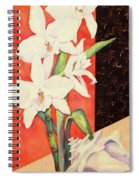 Orchid Medley Spiral Notebook