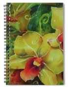 Orchid Series 11 Spiral Notebook