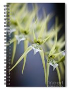 Orchid Wave Spiral Notebook