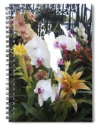 Orchids And Iron Spiral Notebook