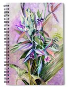 Orchids- Botanicals Spiral Notebook