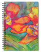 Orchids In Paradise Spiral Notebook