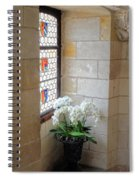 Orchids In The Chateau Spiral Notebook