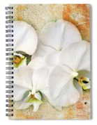 Orchids Upon The Rough Spiral Notebook