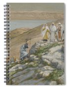 Ordaining Of The Twelve Apostles Spiral Notebook