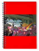 Order Of Polka Dots Emblem Float - Side View Spiral Notebook