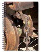Ore Car Chain Spiral Notebook
