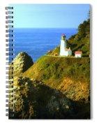 Oregan Lighthouse Spiral Notebook