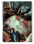 Oregon Beach Treasures #2 Spiral Notebook