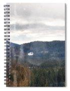 Oregon Cascade Range Landscape Spiral Notebook