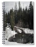 Oregon Cascade Range River Spiral Notebook