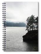 Oregon Coast Fog Spiral Notebook
