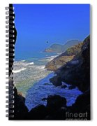 Oregon Coast From Sea Lion Caves Spiral Notebook