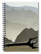 Oregon Coastal Beach Spiral Notebook
