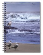 Oregon Coastal Morning Spiral Notebook