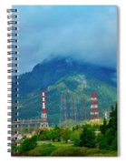 Oregon Columbia River - River View Spiral Notebook
