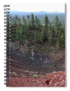 Oregon Landscape - Crater At Lava Butte Spiral Notebook
