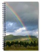 Oregon Rainbow Spiral Notebook