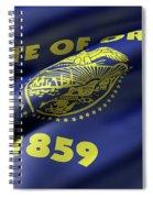 Oregon State Flag Spiral Notebook