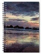 Oregon Sunset Spiral Notebook