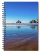 Oregons Rocky Coast Spiral Notebook