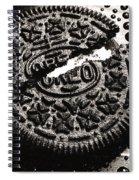 Oreo Cookie Spiral Notebook