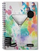Oreo Happy Hour Watercolor Bg Spiral Notebook