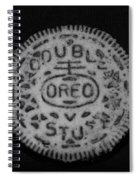 Oreo In Matte Finish Spiral Notebook