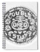 Oreo In Negetive Spiral Notebook