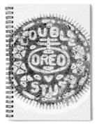 Oreo In Negetive Spiral Notebook