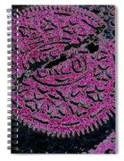 Oreo In Pink Spiral Notebook