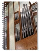 Organ Pipes Spiral Notebook