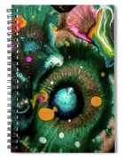 Organic Abstract 3 Spiral Notebook
