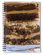 Organic Coffee And Pistachio Cake A Spiral Notebook