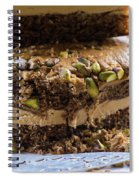 Organic Coffee And Pistachio Cake B Spiral Notebook