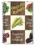 Organic Market Patch Spiral Notebook