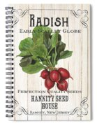 Organic Seed Packet 3 Spiral Notebook