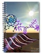 Organic Solar Cells Spiral Notebook