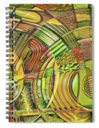 Organical Mechanical Spiral Notebook
