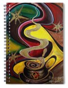 Organo Gold Spiral Notebook