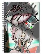 Organs Accusation M Spiral Notebook