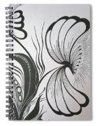Organza Bloom Spiral Notebook