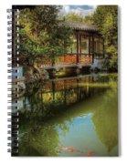 Orient - Bridge - The Chinese Garden Spiral Notebook