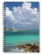 Orient Beach Catamaran Spiral Notebook