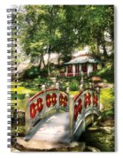 Orient - Bridge - The Bridge To The Temple  Spiral Notebook