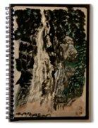Oriental Falls Spiral Notebook